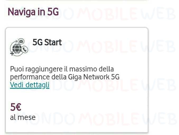 Vodafone Naviga in 5G