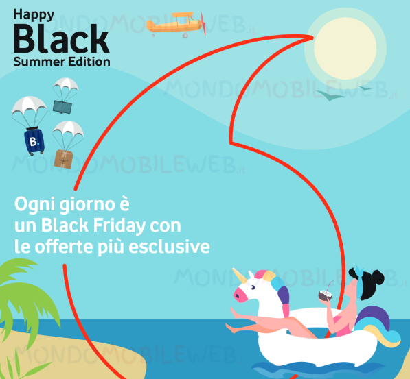 Vodafone Happy Black Summer Edition