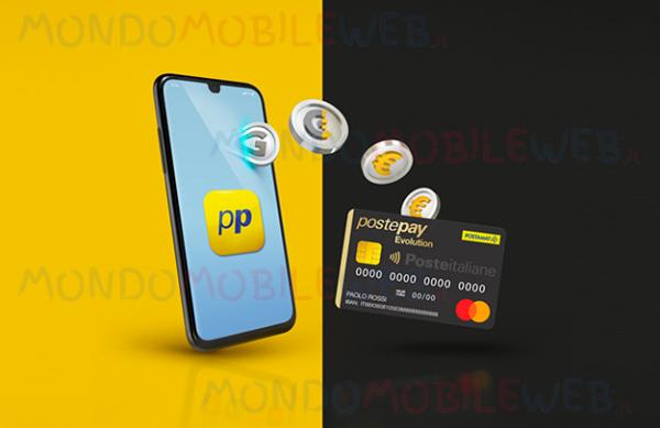 PosteMobile PostePay Connect Back cashback