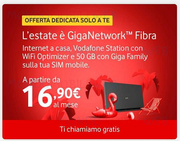 Fibra rete fissa Internet Unlimited