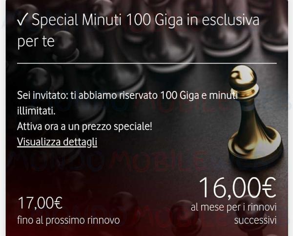 Special Minuti 100 Giga