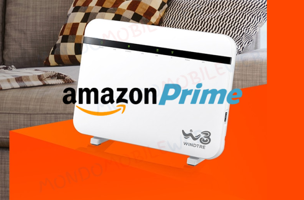 WINDTRE spot Super Fibra Amazon Prime