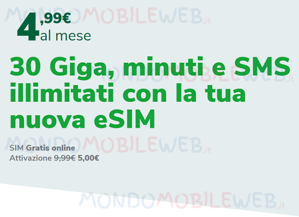 Very Mobile eSIM