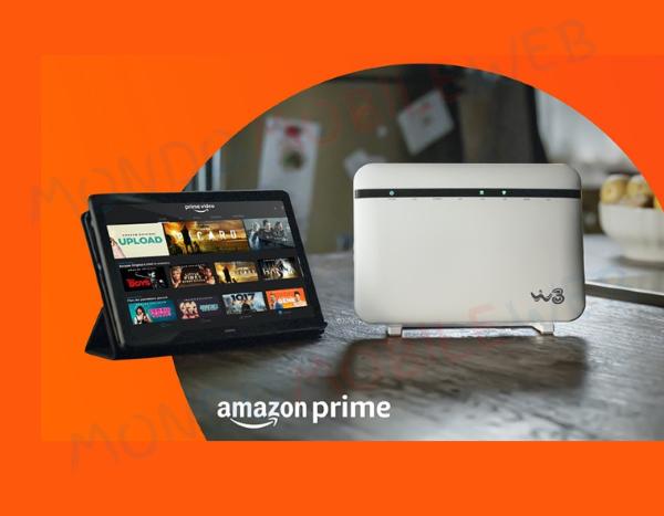 WINDTRE Amazon Prime rete fissa