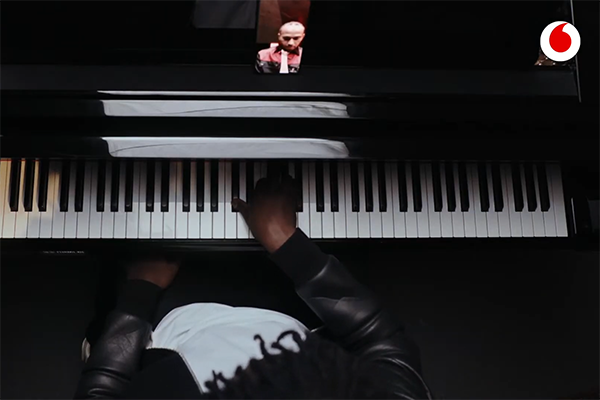 pianoforte a distanza 5g vodafone