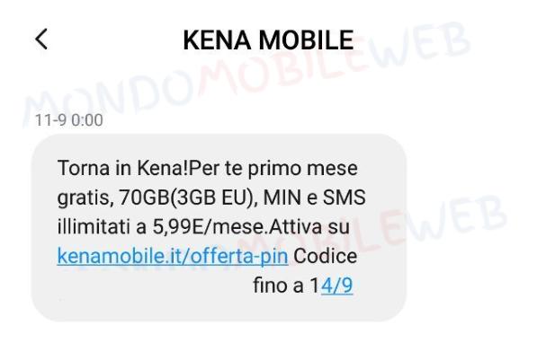 Torna in Kena Mobile