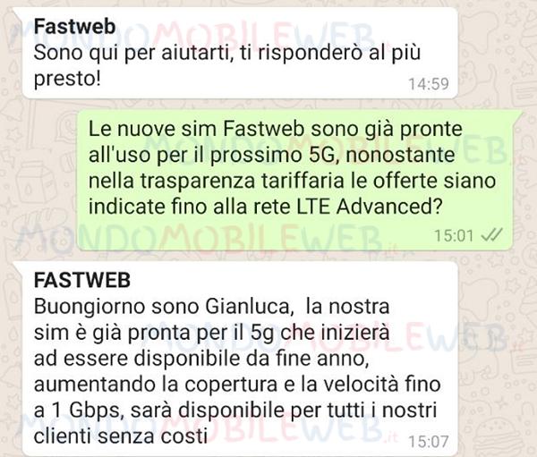 Fastweb 5G