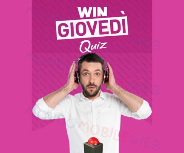 WINDTRE WinDay Giga Quiz