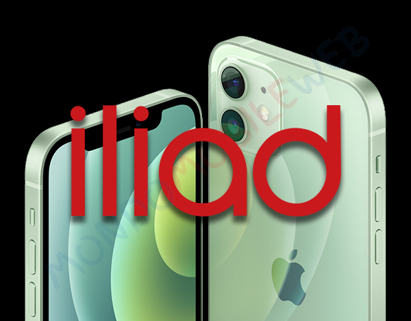 Iliad smartphone Apple iPhone 12