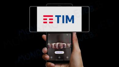 TIM smartphone TIMFin