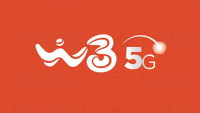 WINDTRE rete 5G province smartphone