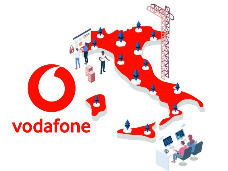 vodafone connessioni rete 5g in italia