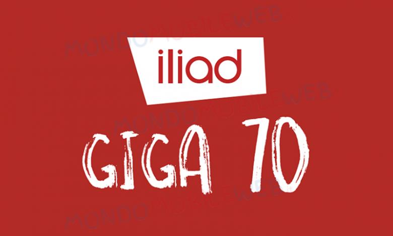 Iliad Giga 70 5G