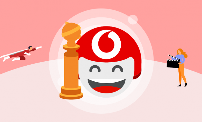 Vodafone TOBi Golden Globe