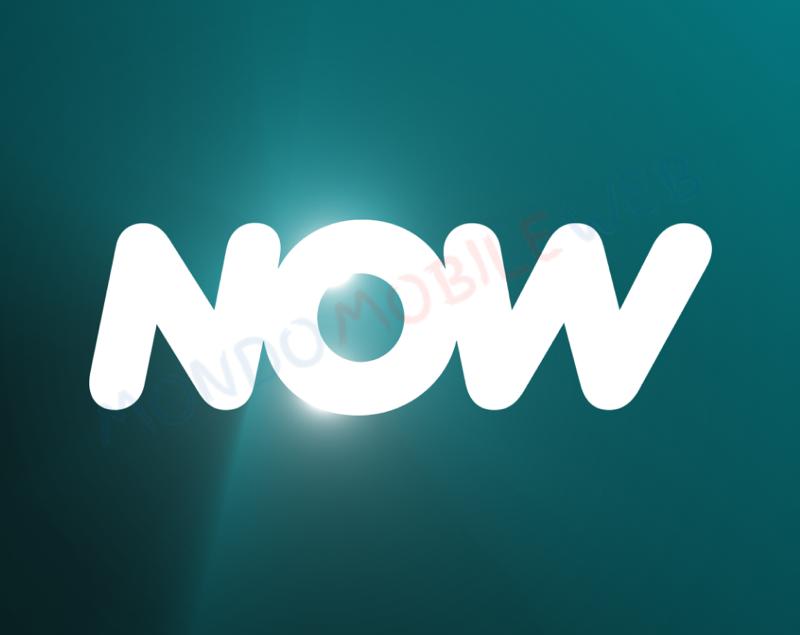 NOW logo brand Sky
