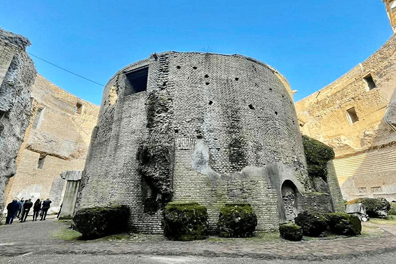 mausoleo augusto roma restaurato fondazione tim