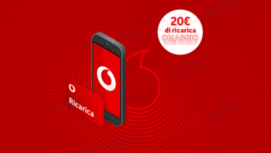 Vodafone Special online ricarica