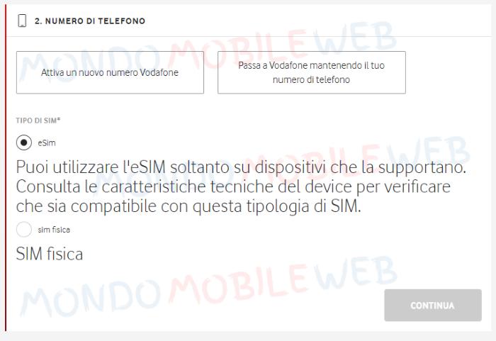 eSIM online