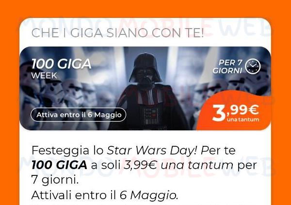 Star Wars Day 100 Giga Week