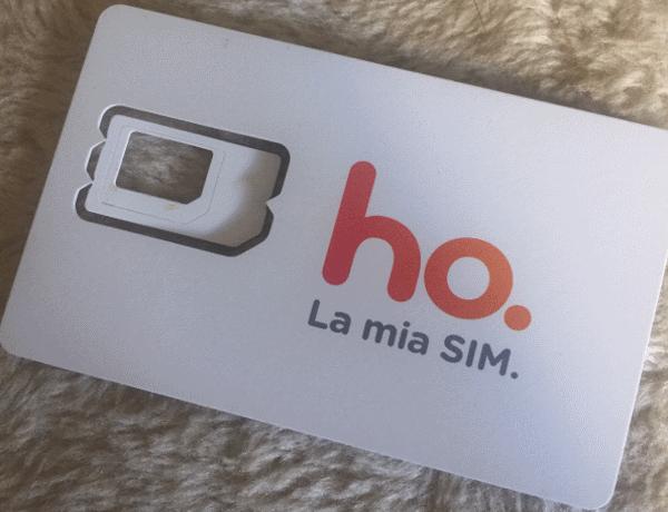 ho. mobile SIM