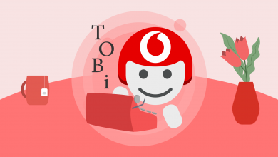 Vodafone TOBi macchina da scrivere