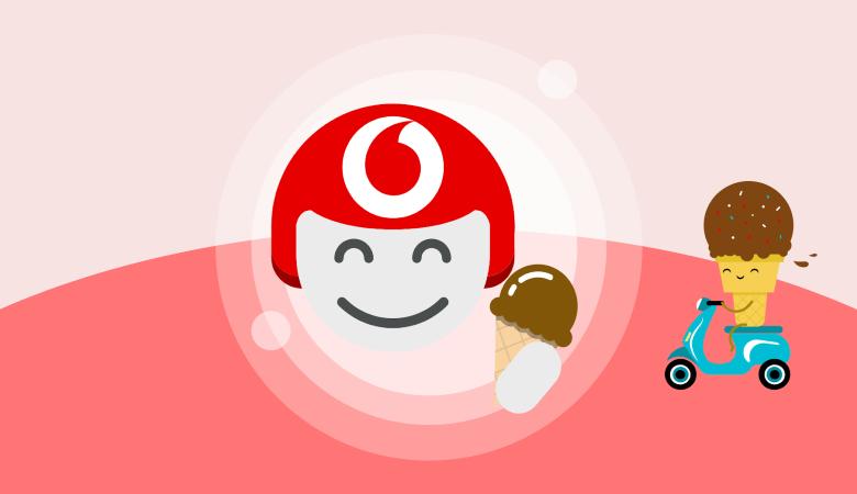 Vodafone TOBi gelato