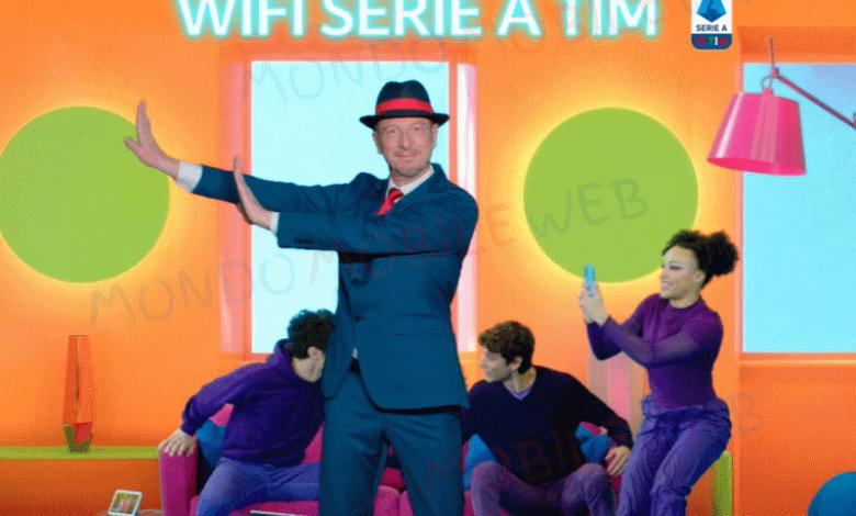 TIM spot Wi-Fi Serie A TIM