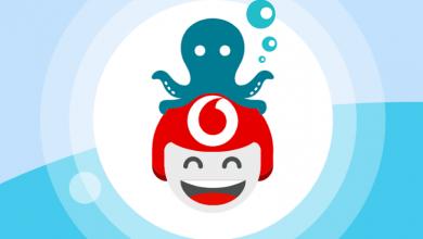 Vodafone TOBi mare Happy Black