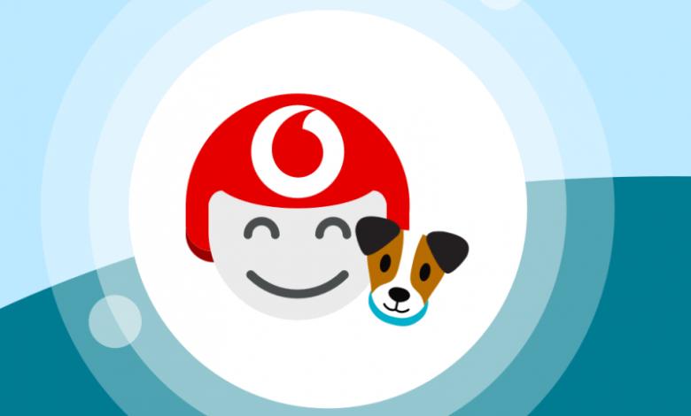 Vodafone TOBi cane
