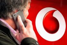 Vodafone smartphone VoLTE