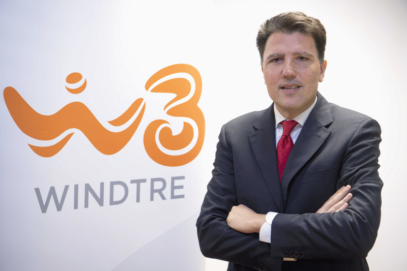 Gianluca Corti, Chief Commercial Officer di WINDTRE